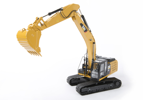 1 24 Cat 336E L Excavator With Quick Coupler Die Cast