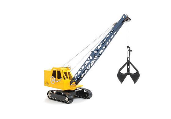 1 48 Michigan C 24 Toy Crawler Crane Brass Classic