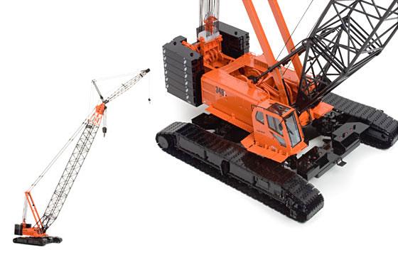 Link belt crane models : Link belt hylab crawler crane dielco edition