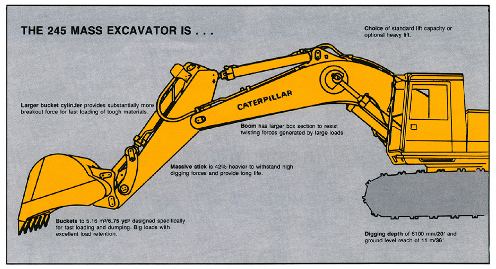 New Model Announcement: Cat® 245 Mass Excavator - Classic