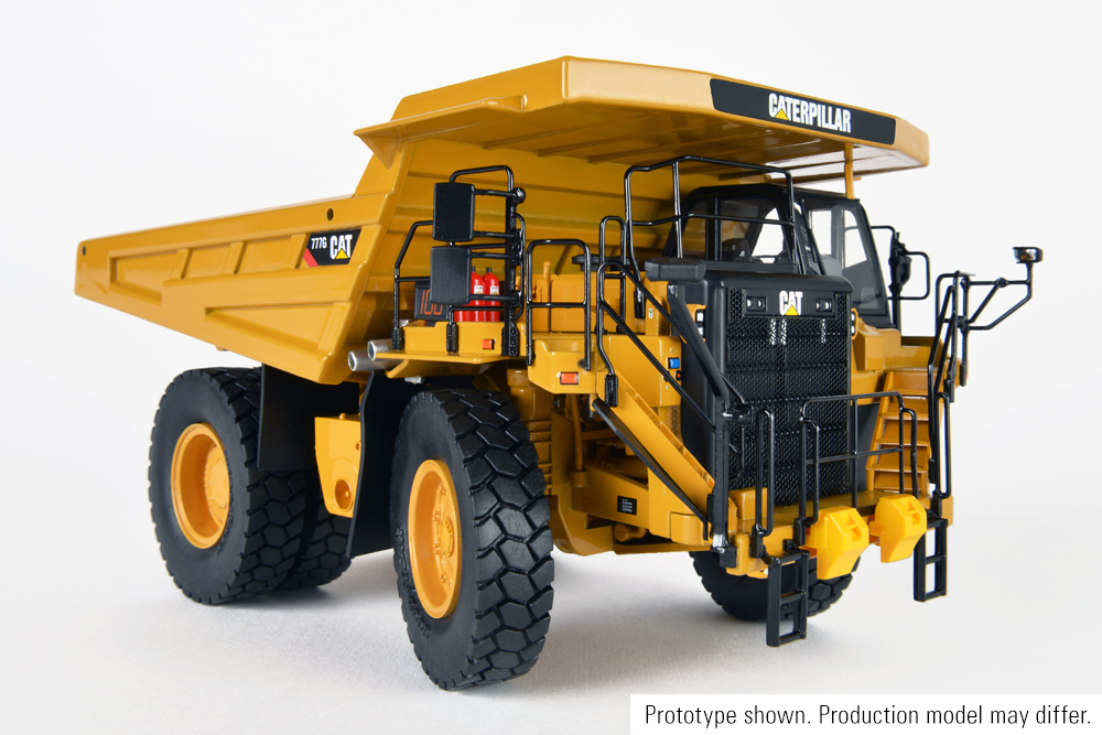 Cat 777G Off-Highway Truck, Manufactured by Classic Construction Models (CCM)