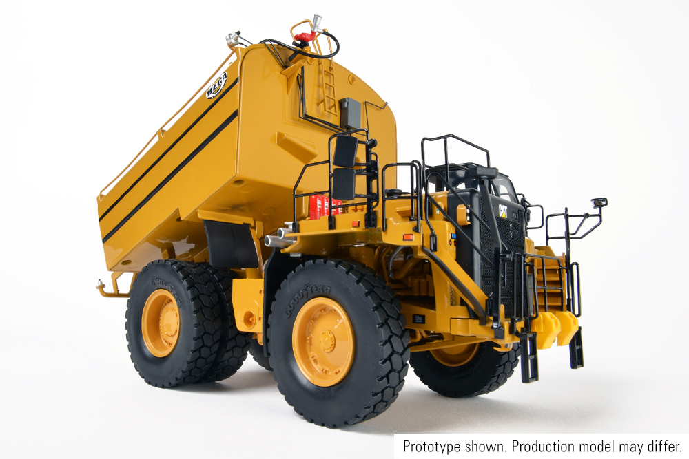 Cat Water Truck with MEGA Attachment