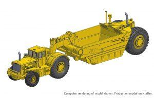 Cat 666 80-ton Scraper
