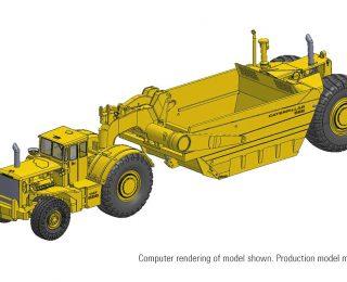 Cat® 666 80-ton Scraper