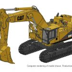 375L Mass Excavator Version Computer Rendering