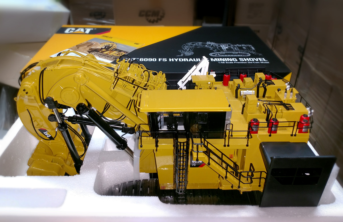 Unsealed: Cat® 6090FS Has Arrived! - Classic Construction Models
