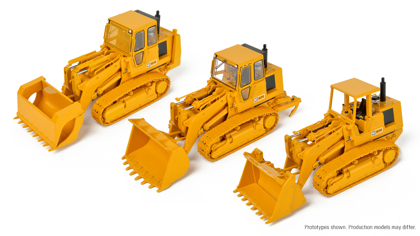 The first samples of the upcoming Cat ® 973 model in 1:48 scale die-cast  have been delivered! After a thorough review, both by us and Caterpillar ®  ...