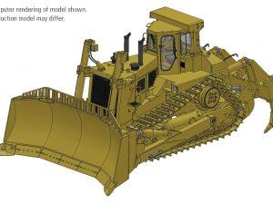 Cat® D11N with U-Blade & Multi-Shank Ripper