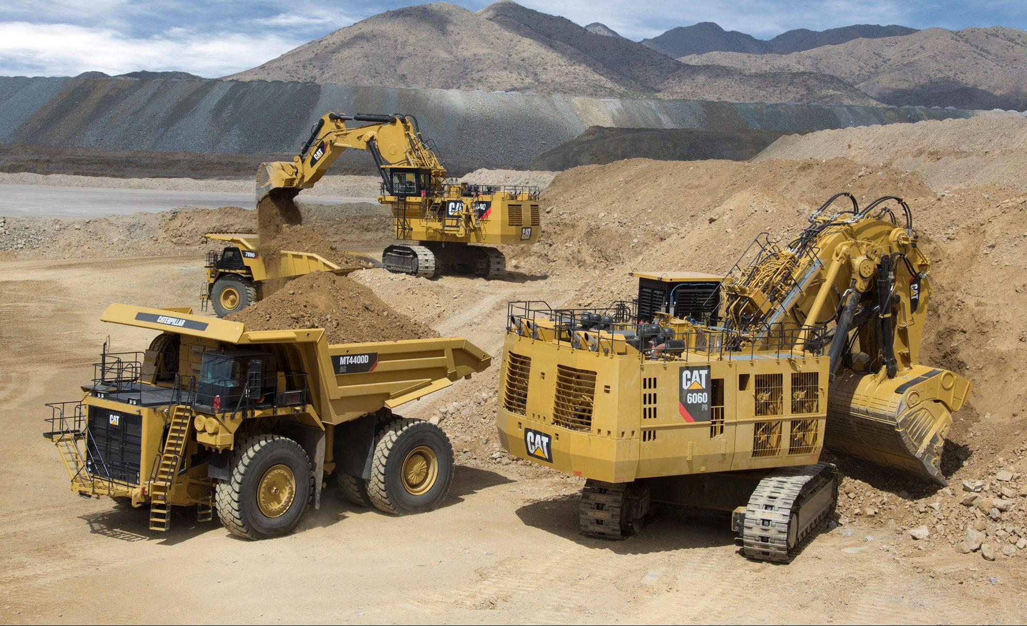 Cat® 6060 Hydraulic Mining Shovels